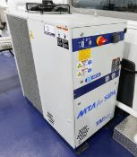 (2017) MTA SPA Model TAEevo TECH 051, Package Process Water Chiller, 4.5 Ton Chilling Capacity, 30.4