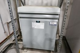 SIEMENS 112.5 Kva Transformer, 600v -> 400/231v (Presently Connected to the SIPA, Lot #1)