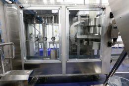 (2017) R. BARDI Model V3/C156, Combination (3) Head In-Line Bottle Filling Station with (2017)