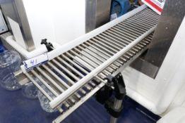 "9.5' x 16"" s/s Gravity Feed Roller Conveyor"