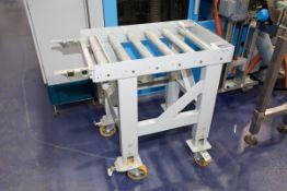 "BASSANESE Heavy Duty Mould Cart, Adjustable Height, 500KG Capacity, 32"" x 20"", 2"" Diameter Rolls"
