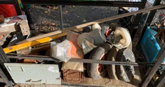 DOLLY CASTERS, WHEELBARROW WHEELS, OTHER WHEELS, TOOLS ETC