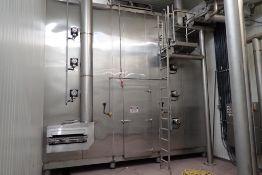 2014 Martin Baron Inc. cryogenic spiral freezer with control panel
