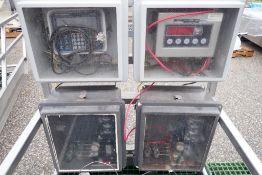 (8) load cells