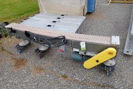 Multi-conveyor table top belt conveyor