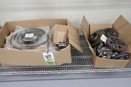 Assorted Hobart 140 quart spare parts including bearings