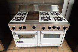 Viking professional range with oven