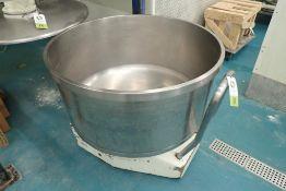 Pietro Berto 300 SS spiral mixing bowl