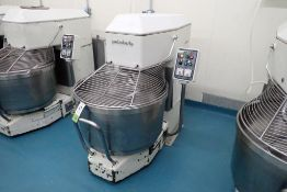 Pietro Berto 200 spiral mixer with bowl