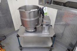 Groen 20 quart steam tilt kettle