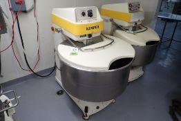 Kemper 125 liter spiral mixer