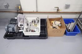 Vemag parts including spare motors