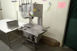 AEW vertical meat bandsaw
