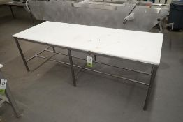 Butcher top table