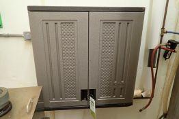 Suncast plastic cabinet