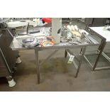 SS sorting table for Reiser Vemag