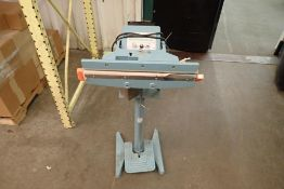 Foot operated sealer