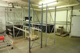 11 sections assorted pallet racking