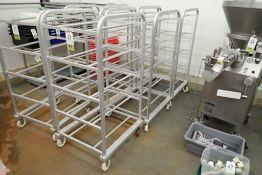 Aluminum tote rack