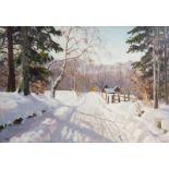 Harald Julius Niels Pryn (1891-1968): 'Fr. Dalskov', oil on canvas