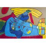 Guillaume Corneille van Beverloo (Corneille, 1922-2010): 'SŽrŽnitŽ', lithograph in colours, ed. 5/20