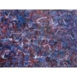 John McCracken (1934-2011): Untitled, gouache on paper, dated (19)82