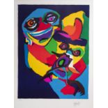 Karel Appel (1921-2006): Untitled, lithograph in colours, ed. 99/100, dated (19)71
