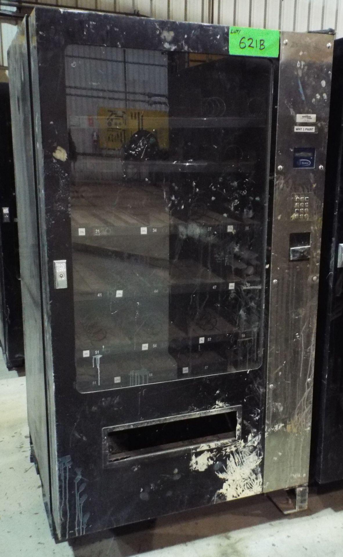 Lot 621B - SEAGA IQ640 INVENTORY CONTROL PARTS & PERISHABLES VENDING MACHINE, S/N: SK0311500613