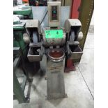 FORD SMITH DOUBLE ENDED PEDESTAL GRINDER, S/N: N/A