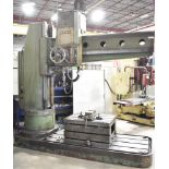 MAS VR6A 7' WAY TYPE RADIAL ARM DRILL WITH PRE-SELECT, SPEEDS TO 2000RPM, COOLANT, 575V/3PH/50HZ,