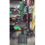 """GHLEB SN460 HEAVY-DUTY FLOOR-TYPE GEAR-HEAD DRILL WITH 11""""X16"""" TABLE, SPEEDS TO 2600RPM, 575V/3PH/"""