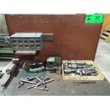 LOT/ CHIEN YEH TOOLING INCLUDING DRILL CHUCKS, CARBIDE INSERTS, BORING BARS AND CENTERS