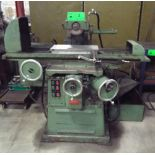 """BARKER INDUSTRIAL 825 CONVENTIONAL SURFACE GRINDER WITH 8""""X20"""" MAGNETIC CHUCK, 8"""" DIAMETER WHEEL,"""