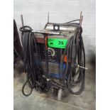 MILLER DIALARC 250 AC/DC ARC WELDER WITH CABLES AND GUN, S/N: N/A [RIGGING FEE FOR LOT #26 - $25 CDN