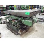 """63""""X94.5"""" POWERED IN-FEED ROTARY TABLE, S/N: N/A (CI) [RIGGING FEE FOR LOT #54 - $1250 CDN PLUS"""