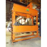 ARMSTRONG BEVERLEY STRONGARM 200TON MAX. CAPACITY ELECTRO-HYDRAULIC H-FRAME HEAVY-DUTY SHOP PRESS,
