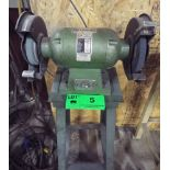 """CRAFTEX 10"""" DOUBLE ENDED BENCH GRINDER WITH STAND, S/N: N/A"""