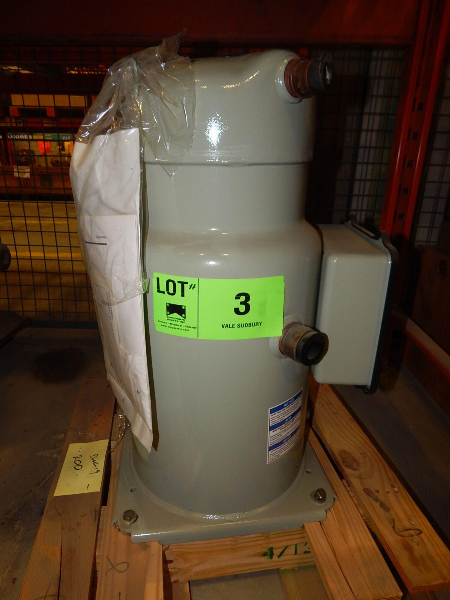 Lot 3 - COMPRESSOR MODEL NUMBER CSHN184D0KM (CMD)