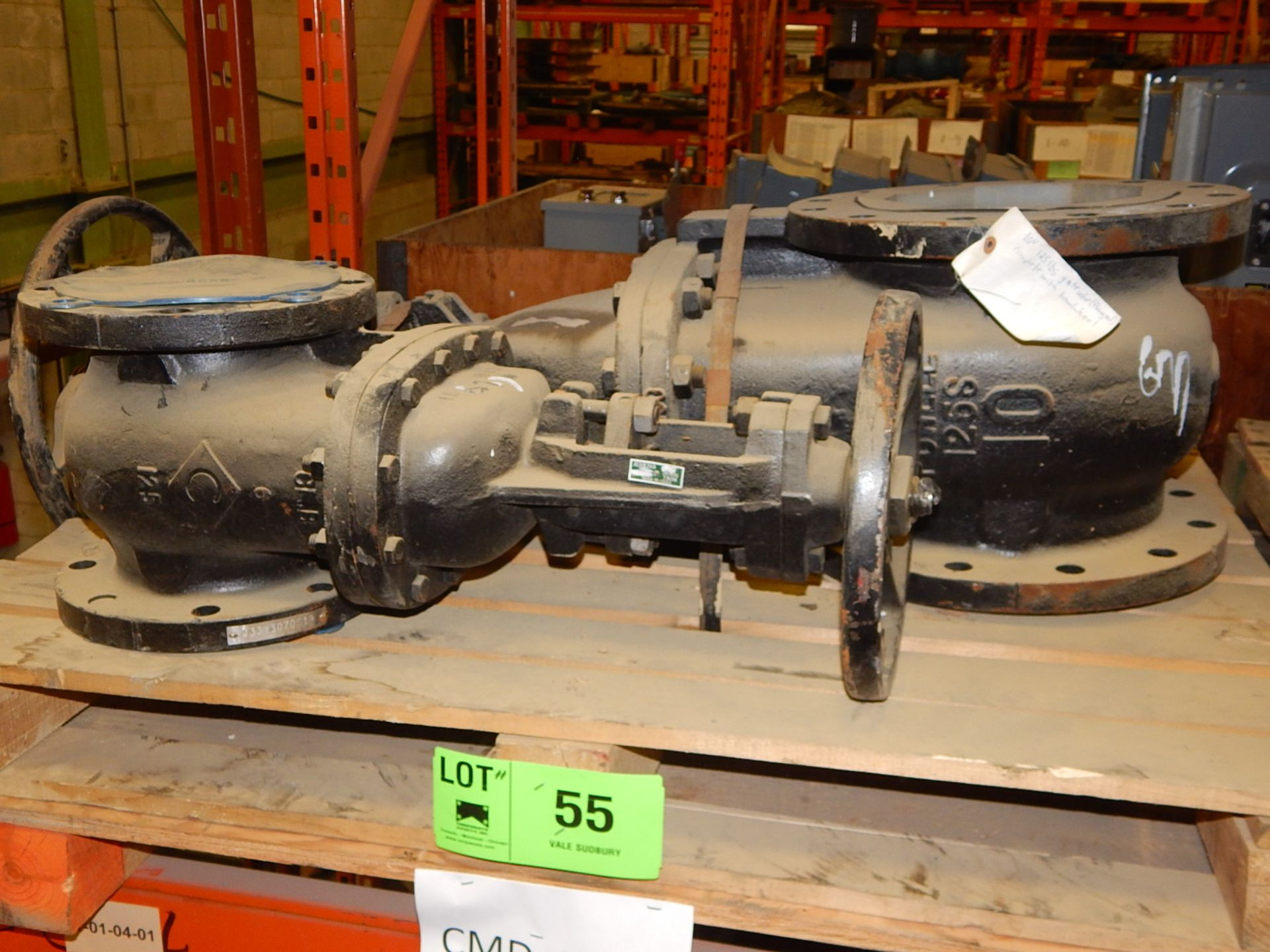 """Lot 55 - LOT/ 4"""" AND 6"""" VALVES (CMD)"""