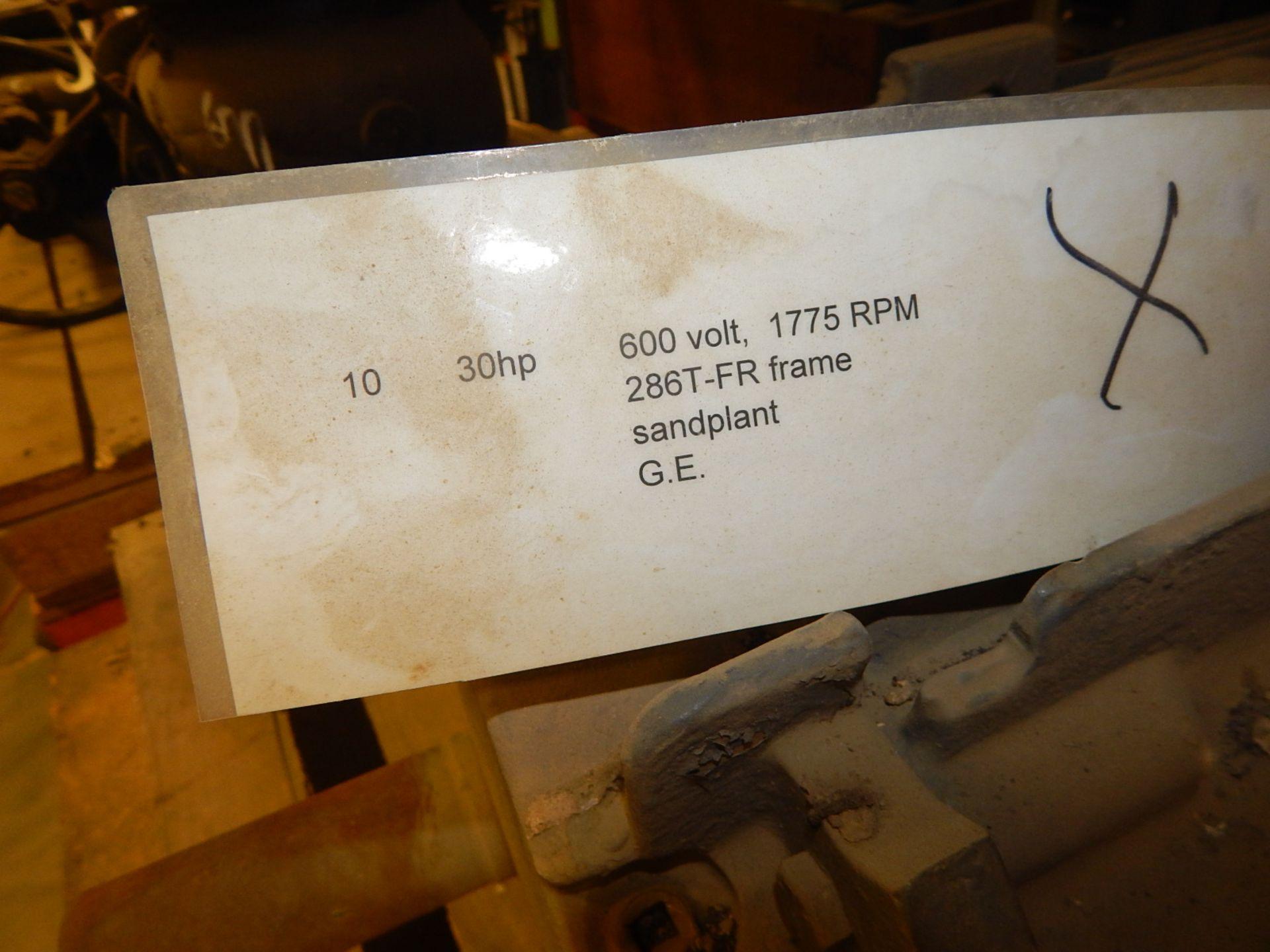 Lot 56 - LOT/ ELECTRIC MOTOR 30HP/ 1775RPM/600V/3PH (CMD)