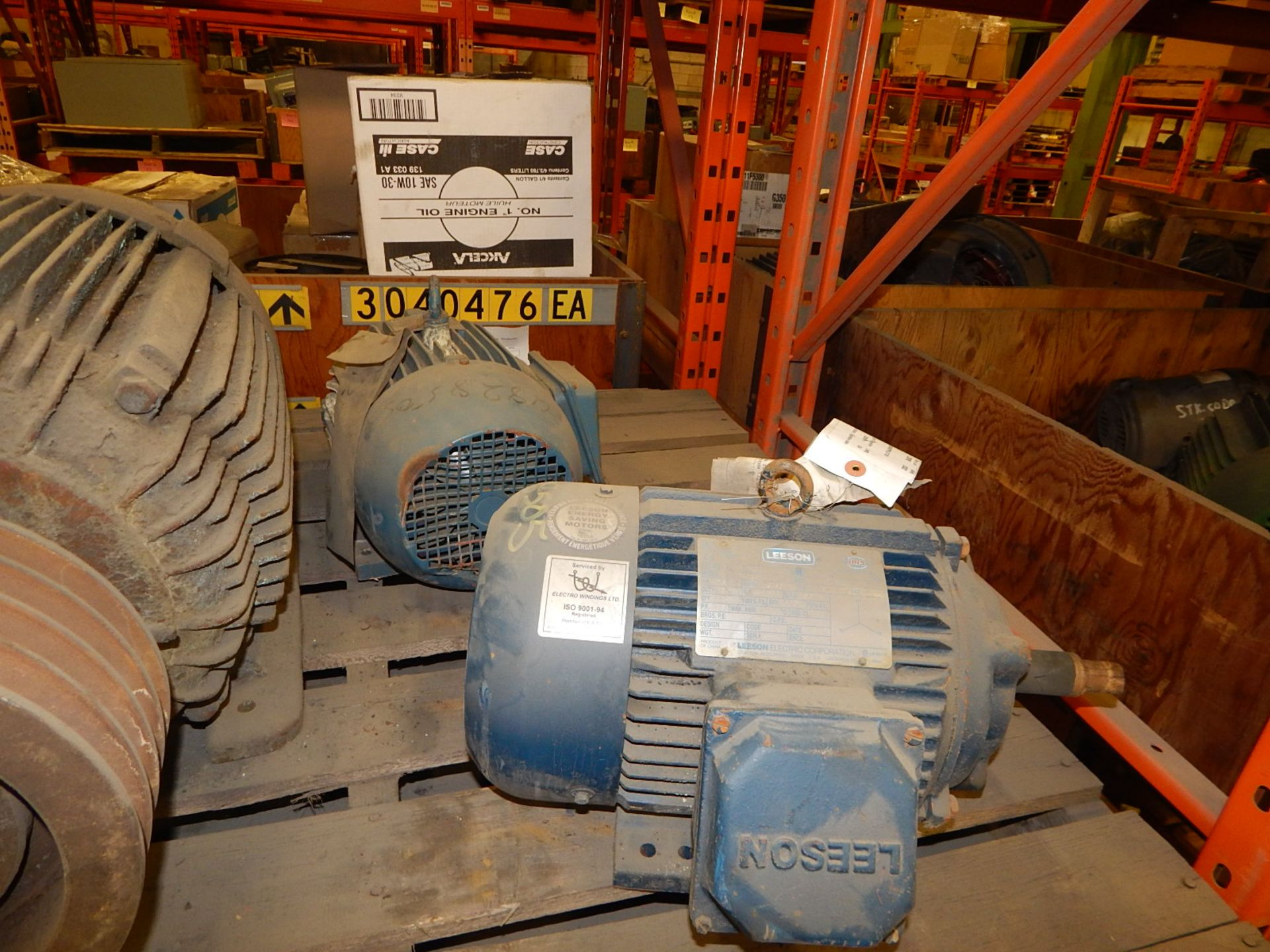 Lot 11 - LOT/ ELECTRIC MOTOR 40HP/3450RPM/ 575V/ 3PH/ 60 CYCLE (CMD)-