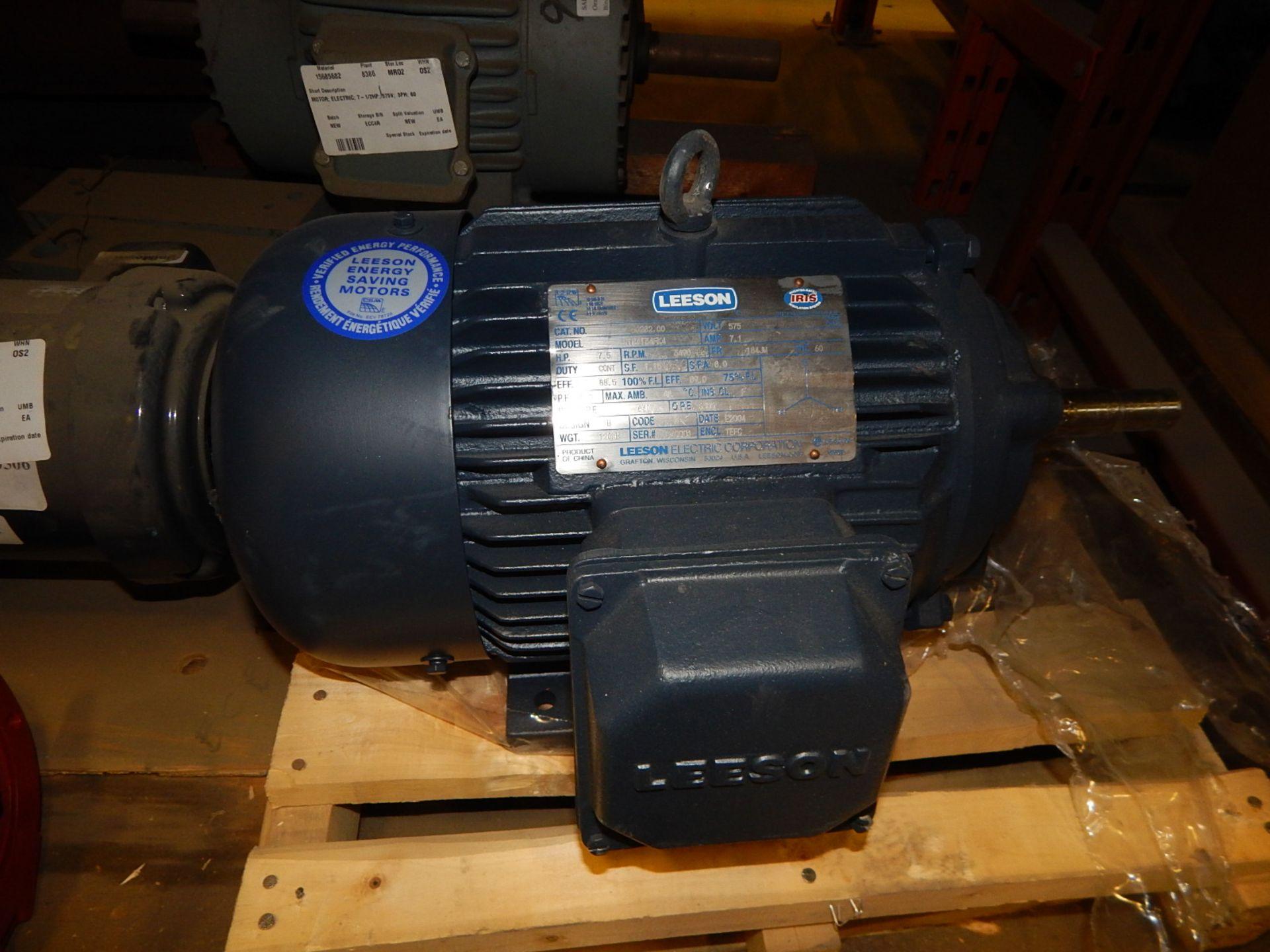 Lot 52 - LOT/ ELECTRIC MOTORS (2) 7.5 HP, (1) .75HP, (1) .5 HP (CMD)