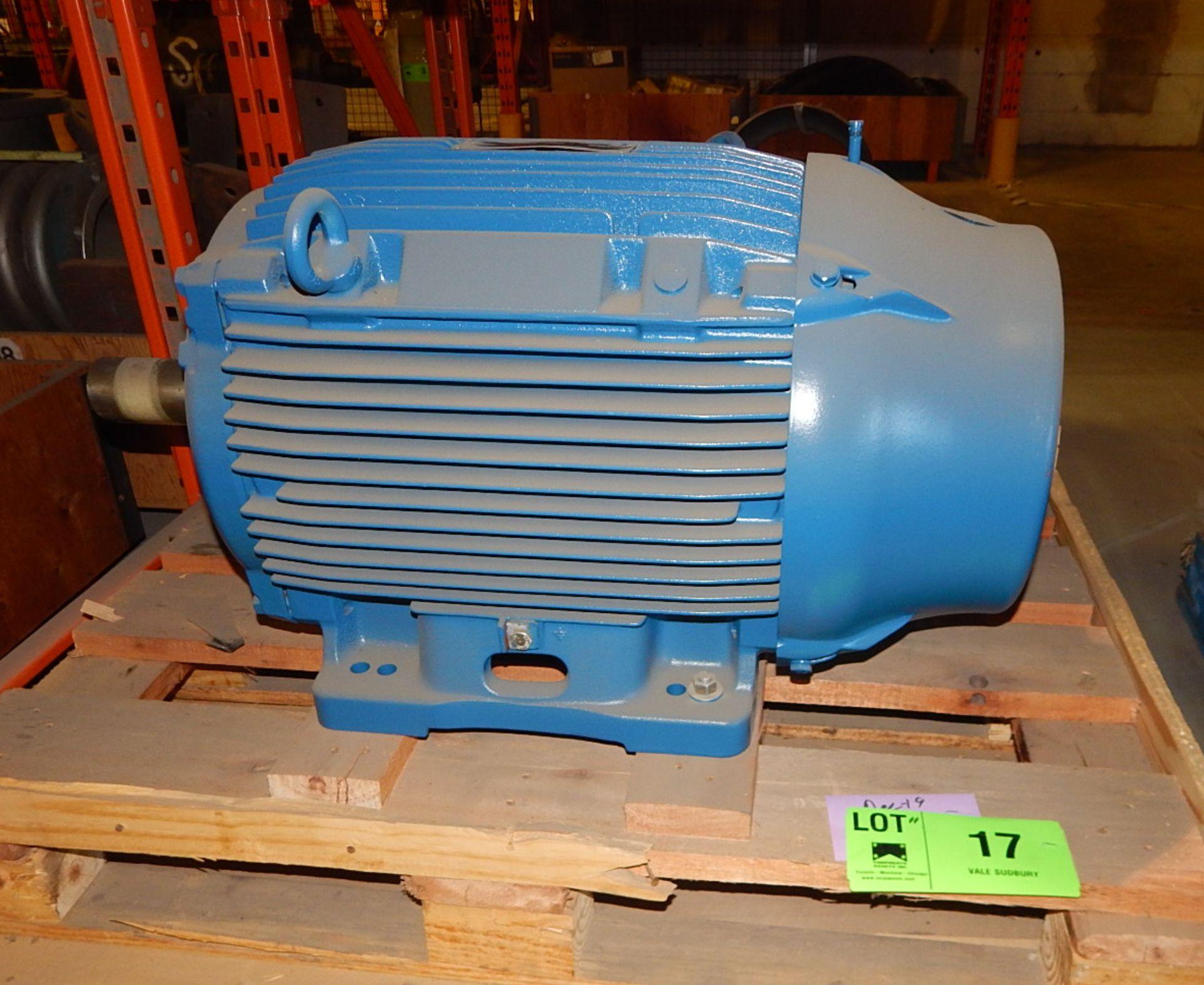 Lot 17 - WEG 60 HP/ 1775RPM/ 575V/ 3PH/ 60Hz ELECTRIC MOTOR (CMD)