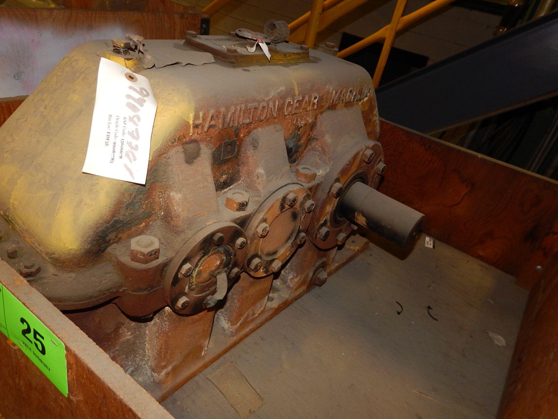 Lot 25 - HAMILTON GEAR & MACH 18.46;1 GEAR BOX (CMD)