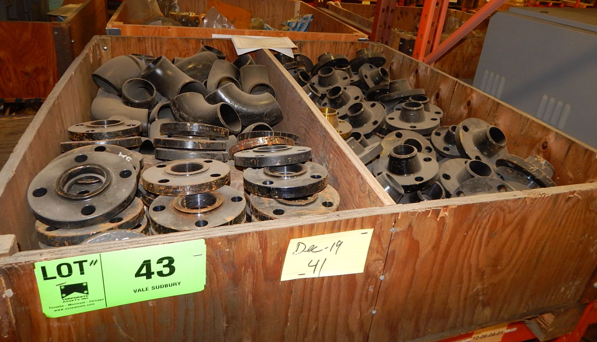 Lot 43 - LOT/ PIPE FITTINGS (CMD)