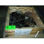 LOT/ CONTENTS OF CRATE - CARBON STEEL PIPE FITTINGS ASSORTED SIZES (NS-3EE)