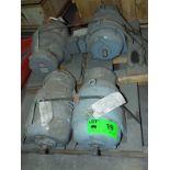 LOT/ (4) REULAND HOIST MOTORS 7.5HP/1800RPM/575V/3PH/60HZ/254U WITH MAGNETIC BRAKE (PLT 6L)