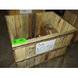 LOT/ CONTENTS OF CRATE - HANDWHEEL OPERATED DIAPHRAGM VALVES ASSORTED SIZES (CRATE NS-3X)