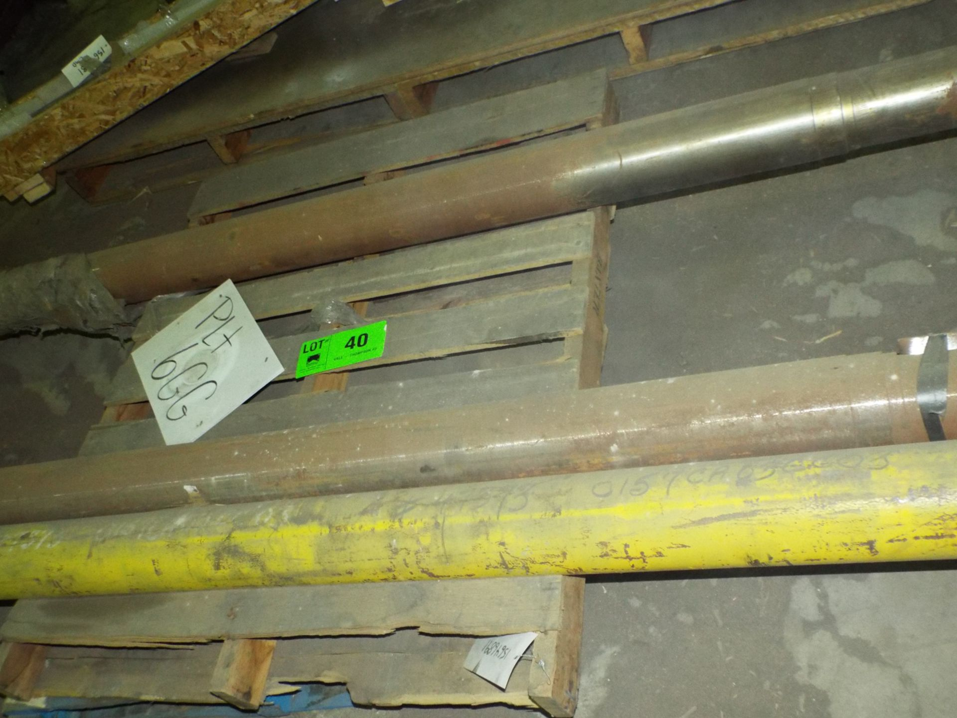 Lot 40 - LOT/ CONTENTS OF SKID - KOERING-PROVINCIAL S-11 60 TON CRANE SHAFT ASSEMBLY (PLT 6GG)