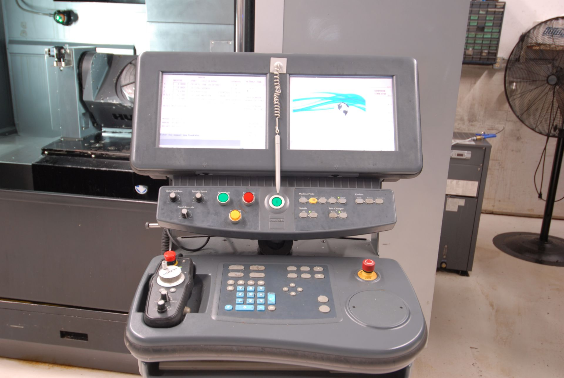 HURCO (2012) VMX42UI 5 AXIS CNC VERTICAL MACHINING CENTER WITH HURCO DUAL SCREEN CNC CONTROL, 13. - Image 3 of 20